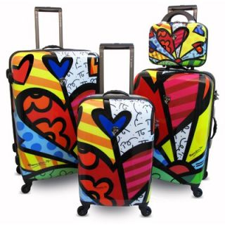 Heys USA 4WD 3 Piece Spinner Luggage Set