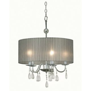 Kenroy Home Arpeggio 5 Light Pendant   91735CH