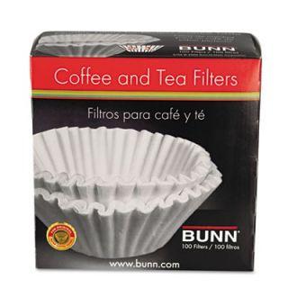 Bunn 10/12 Cup Coffee Filters (Set of 100)   BUNBCF100B