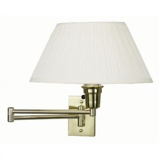 Kenroy Home Element 12 Swing Arm Wall Lamp   30100PB ES