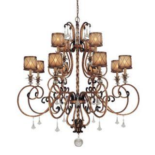 Minka Lavery Aston Court 12 Light Chandelier   4758 206