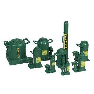 Simplex Hand Jacks   11103 8ton hydraulic hand jack 4 3/4 lift