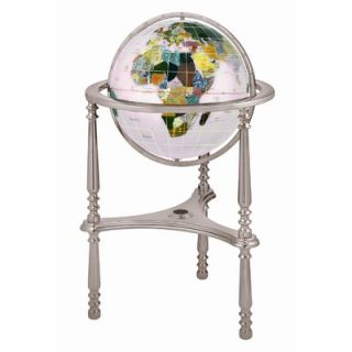 Alexander Kalifano 13 Ambassador Opal Globe with Three Leg High Stand