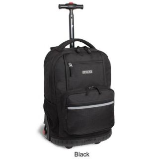 World Sunset 18 Multi Pocket Rolling Backpack