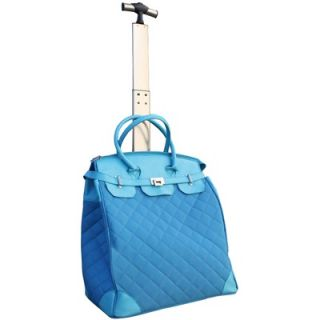 Travelers Club Ultra Chic 18 Quilted Rolling Tote   RB 55018 340