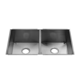 Julien UrbanEdge 32 x 19.5 Undermount Stainless Steel Kitchen Sink