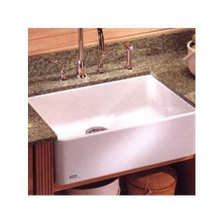 Franke Manor House 28 Fireclay Apron Front Kitchen Sink   MHK110 28
