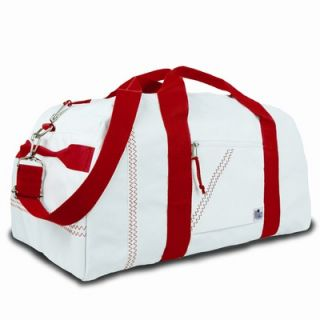 SailorBags Extra Large 25 Square Duffel   210 B/210 R
