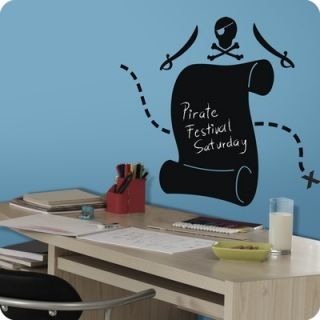 Lot 26 Studio Pirate Scroll Chalkboard Wall Decal