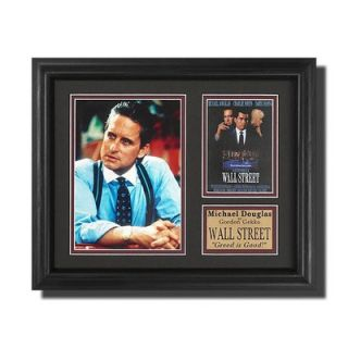 Legendary Art Wall Street Movie Memorabilia