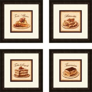 Pro Tour Memorabilia Kitchen Torta Alpine Framed Art (Set of 4)   1