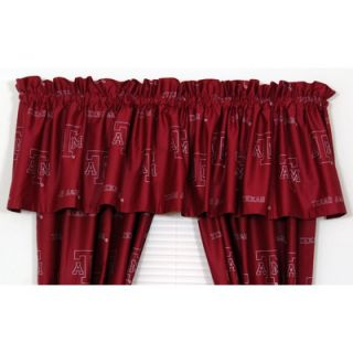 College Covers Texas A&M Printed Curtain Valance