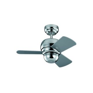 Monte Carlo Fan Company 24 Micro 3 Blade Ceiling Fan with Remote