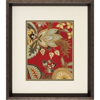 Propac Images Red Floral I/II Wall Art (Set of 2)
