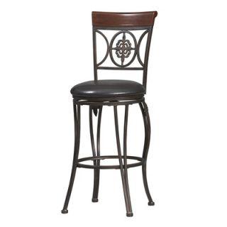 Hillsdale Furniture 62969 Fleur Lis Triple Leaf Bar Stool