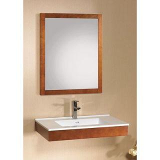 Ronbow Adina 31 Wall Mount Wood Bathroom Vanity