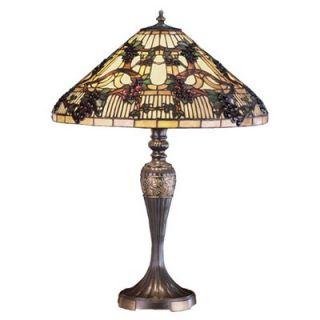 Meyda Tiffany 27.5 H Jeweled Grape Table Lamp