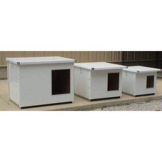 Options Plus Insulated Dog House with Aluminum Lining   JDH24/30/34