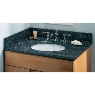 Pegasus 25, 31, 37, 49 or 61 Blue Pearl Vanity Top with Sink and