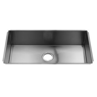 Julien J7 31 x 17.5 Undermount Stainless Steel Single Bowl Kitchen