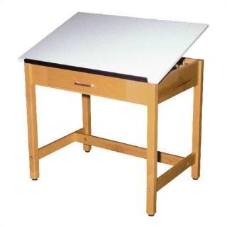 Wood   Veneers Drafting Tables
