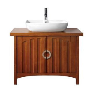 Avanity Kent Vanity and Mirror Set in Chestnut   KENT V39 CH