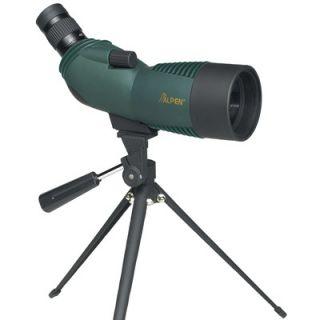 Alpen Outdoor 15 45x60 Waterproof Spotting Scope with 45