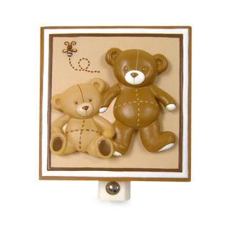 Eddie Bauer Baby Teddy Bear Crib Bedding Collection