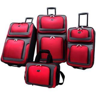 Traveler New Yorker 4 Piece Luggage Set