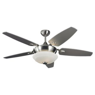 Monte Carlo Fan Company 52 Solaire 5 Blade Ceiling Fan with Wall