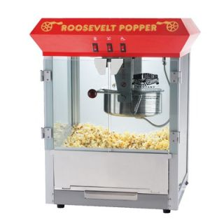 Great Northern Popcorn Roosevelt Eight Ounce Antique Popcorn Machine