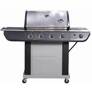 Bradley Smoker 58 4 Burner Stainless Steel Electric Grill