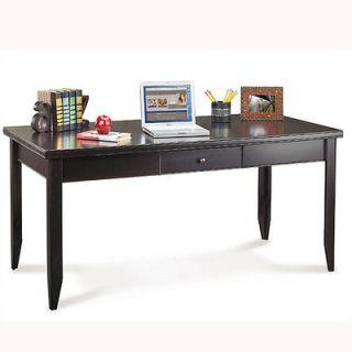 kathy ireland Home by Martin Furniture Tribeca Loft Black Writing Desk