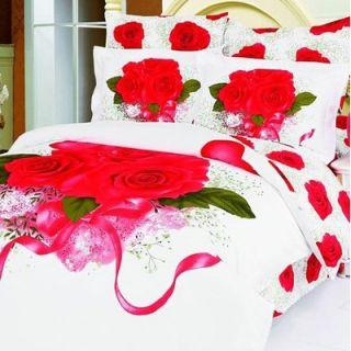 Le Vele Anastasia 6 Piece Full / Queen Duvet Cover Bedding Set