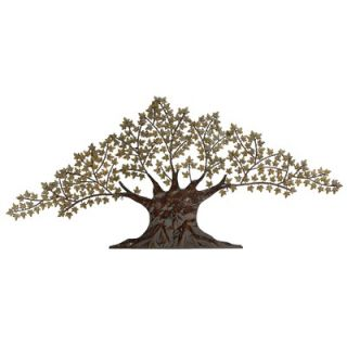 Aspire Large Metal Maple Tree Wall Decor