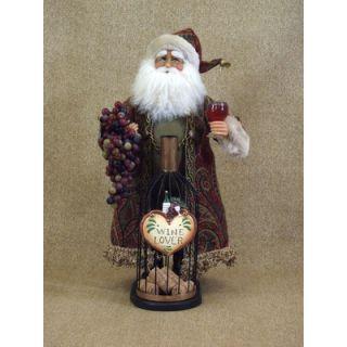 Karen Didion Crakewood Tartan Santa Figurine   CC16 70
