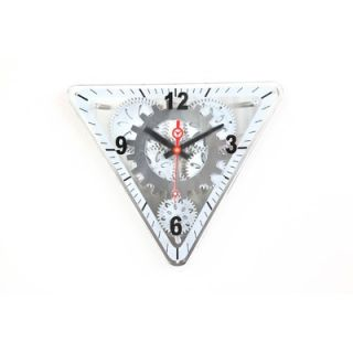 Clock 13 x 15 Moving Gear Wall Clock with Glass Cover   GCLS 77