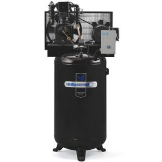 Powermate 80 Gallon, 240 Volt Two Stage Cast Iron Industrial Air