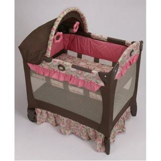 Graco Travel Lite Crib in Jacqueline