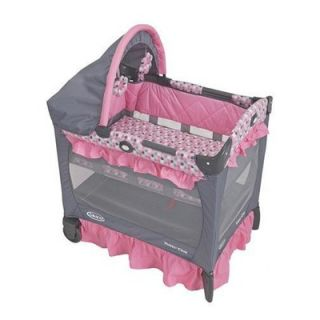 Graco Baby Travel Lite Crib in Ally