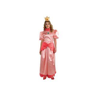 Super Mario Princess Peach Adult Costume