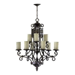 Quorum Marcela 9 Light Chandelier   6131 9 86