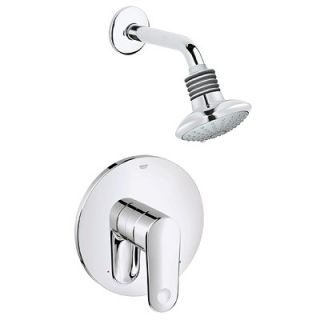 Grohe Europlus Combination Pressure Balance Volume Control Shower