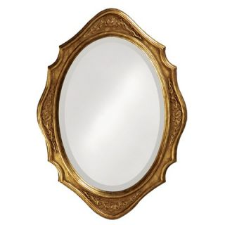 Howard Elliott Trafalgar Mirror with Gold Finish