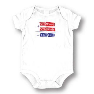 Attitude Aprons by L.A. Imprints 100% Cute Baby Romper