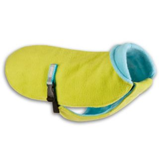 BUB Coat Bright Green with Turquoise Dog Coat   101BB GT