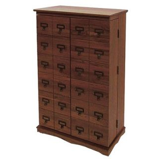 Leslie Dame Library Style Multimedia Cabinet   CD 612 LW