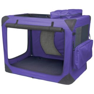 Pet Gear Generation II Deluxe Portable Soft Dog Crate in Lavender