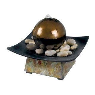 Kenroy Home Slate Sphere Indoor Table Fountain