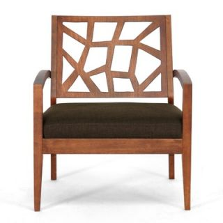 Twill Lounge Chair   Jennifer Lounge Chair 109/663 Dark Brown